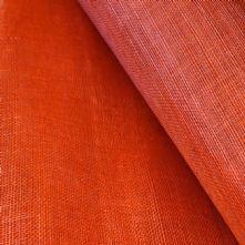 Persimmon Orange Sinamay